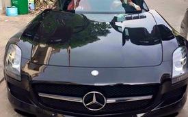 """NÓNG: Siêu xe cửa """"cánh chim"""" Mercedes - Benz SLS AMG thứ 4 tại Việt Nam"""