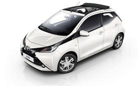 Xe tiết kiệm xăng Toyota Aygo có bản mui xếp