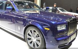 Rolls-Royce Phantom phiên bản mới cho các đại gia Trung Quốc