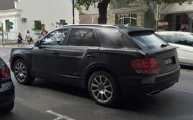 """Lần đầu ngắm SUV siêu sang Bentley Bentayga """"bằng xương, bằng thịt"""""""