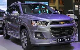 Chevrolet Captiva 2016 có thể về Việt Nam chính thức ra mắt