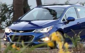 Chevrolet Cruze 2016 lộ diện trần trụi