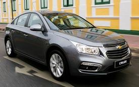 Chevrolet Cruze 2015 có thể về Việt Nam ra mắt tại Thái Lan