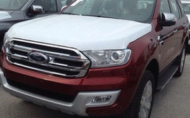 Ford Everest thế hệ mới bất ngờ xuất hiện tại Việt Nam
