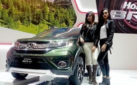 """""""Xe hot"""" Honda BR-V lần đầu trình diện với màu sơn lạ mắt"""