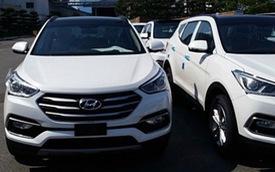 Hyundai Santa Fe 2016 sẽ về Việt Nam lộ diện trần trụi
