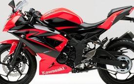 """Môtô giá rẻ Kawasaki Ninja 250SL thay """"đồng phục"""" mới"""