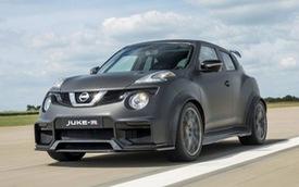 Nissan Juke mạnh như siêu xe GT-R lộ diện