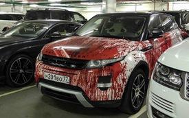"""Range Rover Evoque phiên bản """"máu me"""" mừng Halloween"""