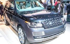 """Ngắm xe Land Rover mạnh và sang nhất """"bằng xương, bằng thịt"""""""