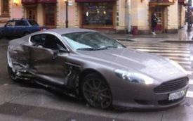 Thủ môn 15 tuổi phá xe Aston Martin mới mua 3 ngày