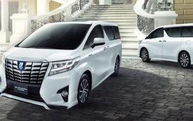Xe minivan hạng sang Toyota Alphard mới ra mắt Đông Nam Á