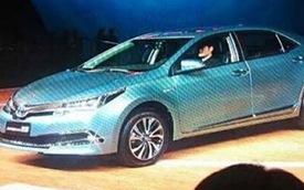 Toyota Corolla Altis có phiên bản tiết kiệm nhiên liệu