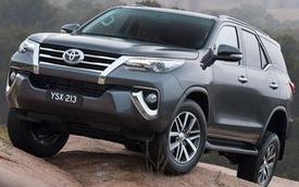 Toyota Fortuner 2016 ra mắt tại Thái Lan, tràn ngập công nghệ mới