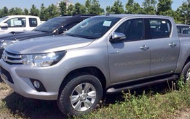 """Hình ảnh """"bằng xương bằng thịt"""" của Toyota Hilux 2016 sẽ về Việt Nam"""