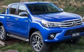 Xe có thể về Việt Nam Toyota Hilux 2016 chính thức trình làng