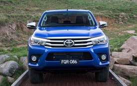 Toyota Việt Nam sắp trình làng bán tải Hilux hoàn toàn mới