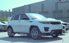Range Rover Evoque 2016 chính hãng đầu tiên về Việt Nam