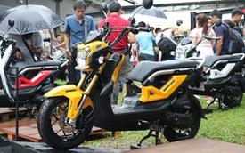 Zoomer X 2016 bất ngờ xuất hiện tại Hà Nội