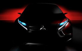 Mitsubishi úp mở xe concept crossover coupe mới