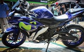 Phát thèm với Yamaha R15 và R25 phiên bản MotoGP cực đẹp