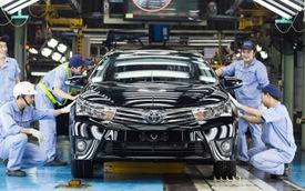 Toyota đề nghị giảm thuế ô tô