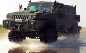 Xe chống mìn, phá công sự của Nam Phi