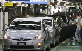 Đồng Yên mạnh khiến lợi nhuận các hãng xe Nhật Bản suy giảm