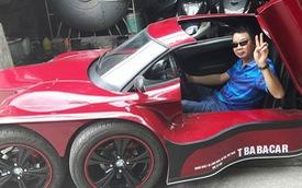 Lần đầu tiên xuất hiện xe ô tô 5 bánh tự chế của người Việt