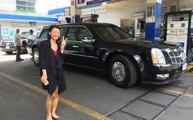 """Bắt gặp cặp đôi """"quái thú"""" The Beast đi đổ nhiên liệu tại Sài Gòn"""