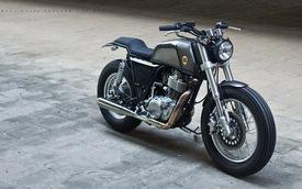 """Video cận cảnh Yamaha SR400 độ """"ngầu"""" của biker Hà thành"""