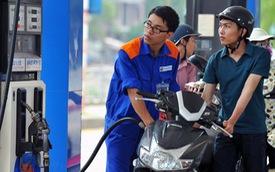 Giá xăng tăng gần 1.000 đồng/lít từ chiều nay