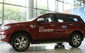 'Ford Everest 2016 đắt do thuế cao và nguồn cung ít'