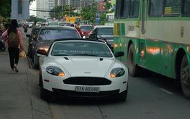 Aston Martin DB9 Volante của đại gia Trung Nguyên tái xuất trên phố Sài thành
