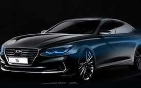 Hyundai Azera thế hệ mới, đối thủ của Toyota Avalon, được hé lộ thiết kế