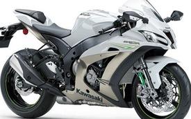 Siêu mô tô Kawasaki ZX-10R 2017 có thêm màu trắng mới