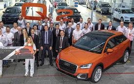 SUV hạng sang nhỏ xinh Audi Q2 đi vào sản xuất