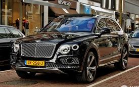 """""""Tóm gọn"""" SUV siêu sang Bentley Bentayga trên đường phố"""