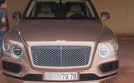 Bentley Bentayga chính hãng đầu tiên tại Việt Nam đã ra biển