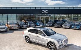 Những chiếc SUV siêu sang Bentley Bentayga đầu tiên đến tay chủ