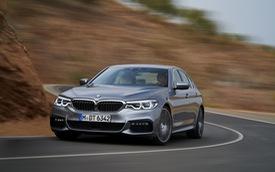 BMW 5-Series 2017 được công bố giá bán chính thức