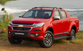 Xe bán tải Chevrolet Colorado 2016 sẽ về Việt Nam ra mắt Đông Nam Á