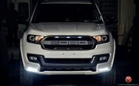 """Ford Everest thế hệ mới độ theo phong cách """"khủng long"""" F150 Raptor"""
