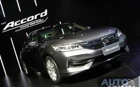 Honda Accord 2016 ra mắt Đông Nam Á, Toyota Camry coi chừng!