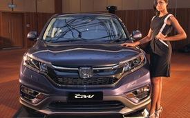 Honda CR-V 2WD 2016 được trang bị ghế bọc da