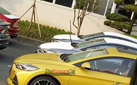 Hyundai Elantra Sport lần đầu tiên lộ diện trần trụi