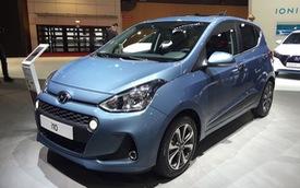 Ngắm kỹ Hyundai i10 nâng cấp tại triển lãm Paris 2016