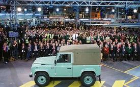 """Biểu tượng việt dã Land Rover Defender chính thức bị """"khai tử"""""""