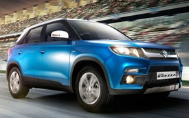 Suzuki Vitara Brezza - Đối thủ mới của SUV đô thị Ford EcoSport