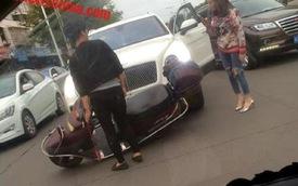 Chiếc SUV siêu sang Bentley Bentayga đầu tiên trên thế giới gặp nạn